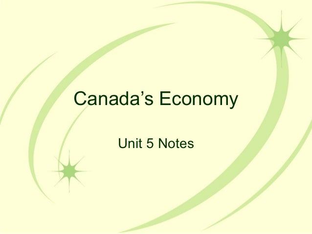 Canadas economy2012