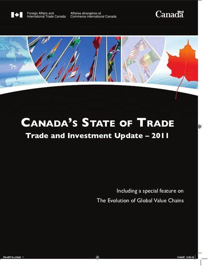 Canada's State of Trade - Trade & Investment Update 2011 [DFAIT]