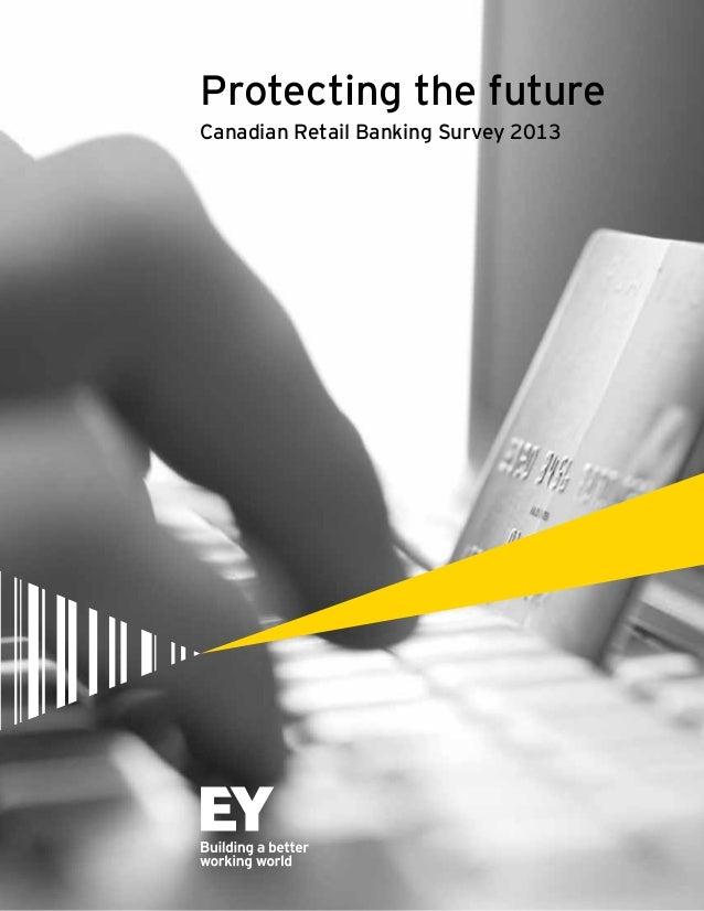 Canadian Retail Banking Survey 2013