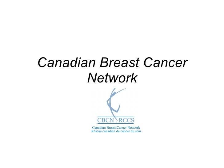 Canadian Breast Cancer Network