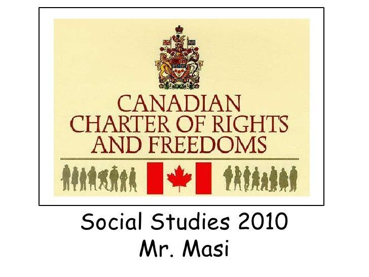 canadian charter of rights and freedoms The real substance of the canada act 1982 can be found in schedule b, also  known as the constitution act 1982 this is where the canadian charter of rights .