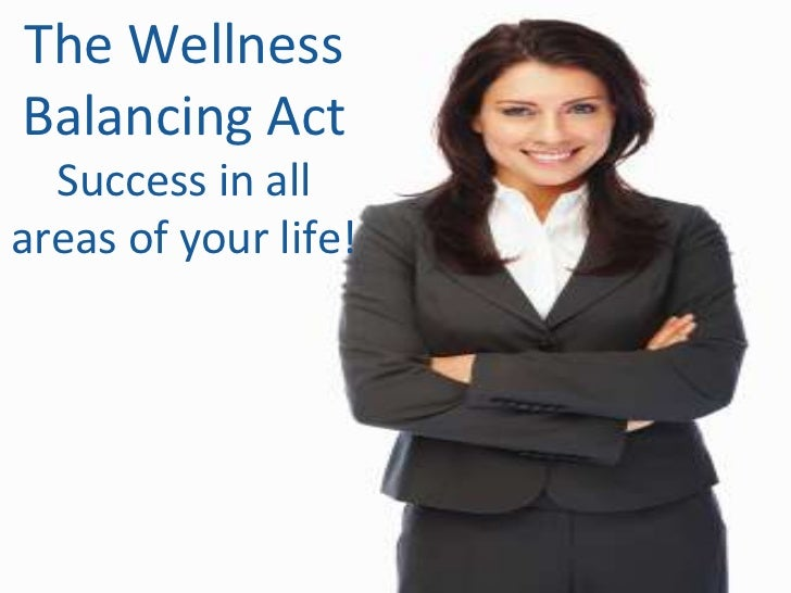 The Wellness Balancing ActSuccess in all <br />areas of your life!<br />