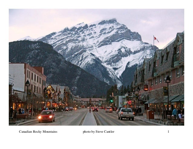 Canadian Rocky Mountains   photo by Steve Cantler   1