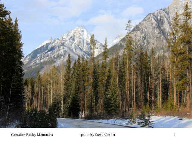 Canadian Rockies in Winter -- Johnston Canyon, Icefields Parkway & Bow River Parkway