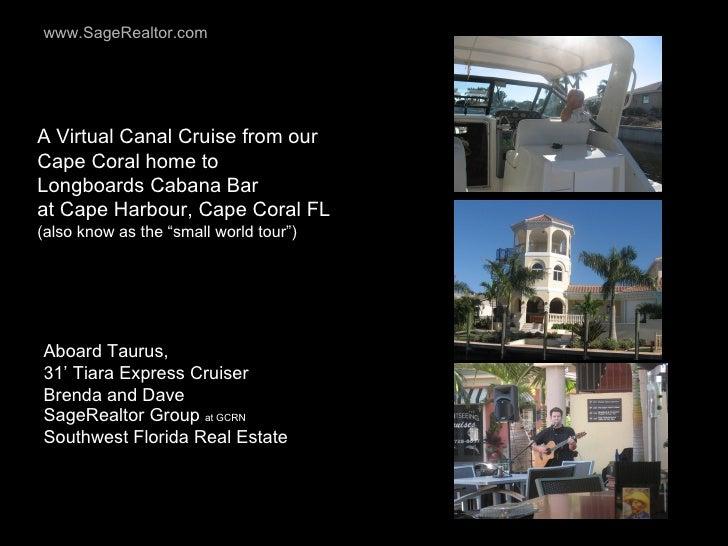 Cape Coral FL Canal Cruise