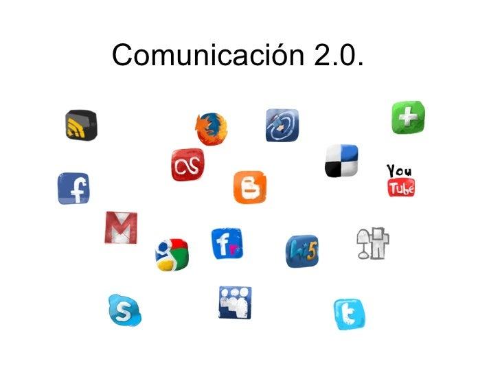Comunicación 2.0.