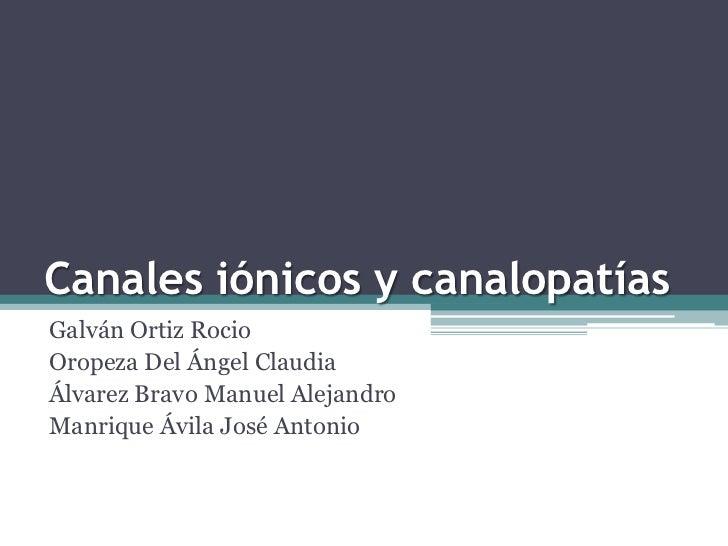 Canalopatias