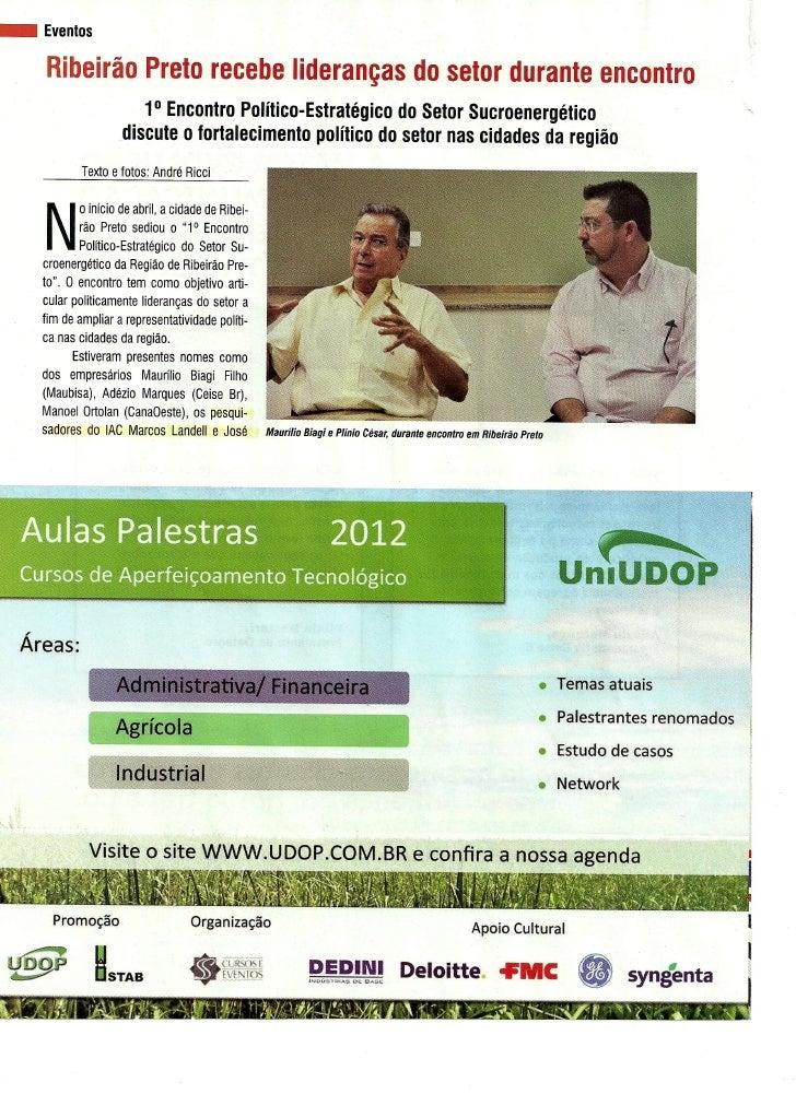 Ribeirão Preto recebe lideranças do setor durante encontro