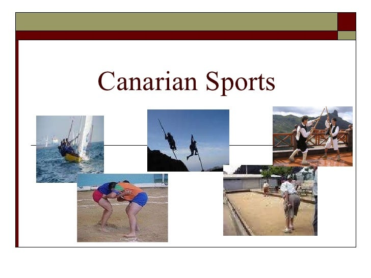 Canarian sports