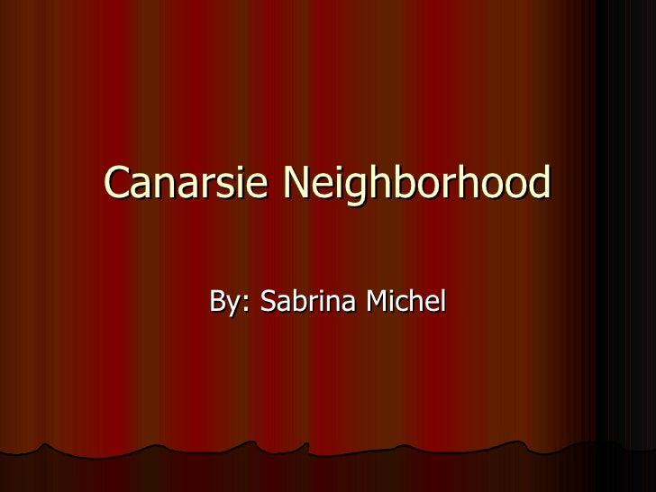 Canarsie Neighborhood