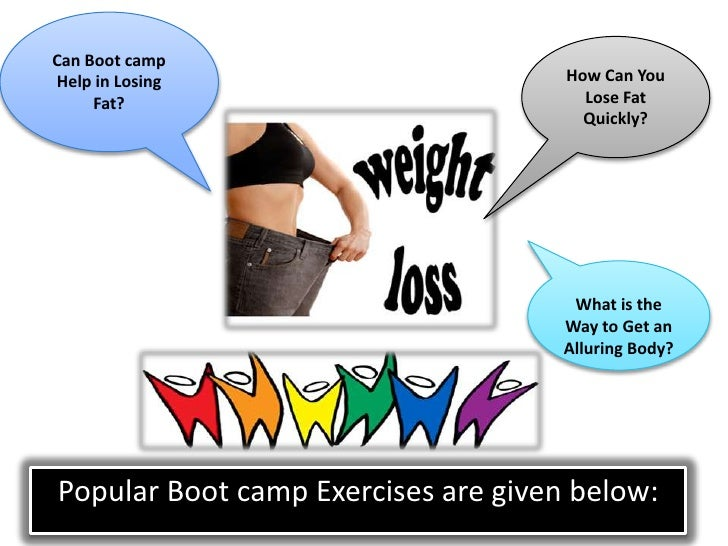 Can Bootcamp Help in Losing Fat
