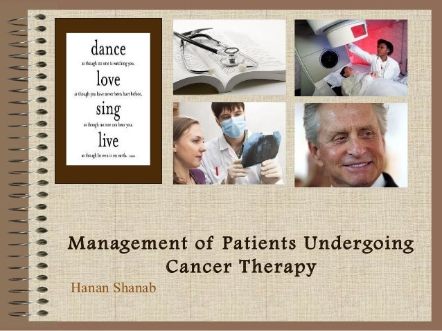 Management of Cancer patients