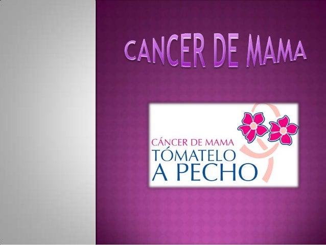  El cáncer de mama es uno de los cánceres tumorales que se conoce desde antiguas épocas. La descripción más antigua del c...