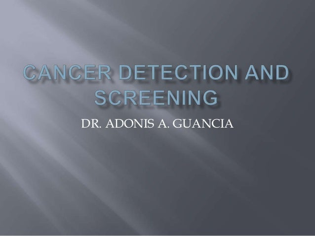 DR. ADONIS A. GUANCIA