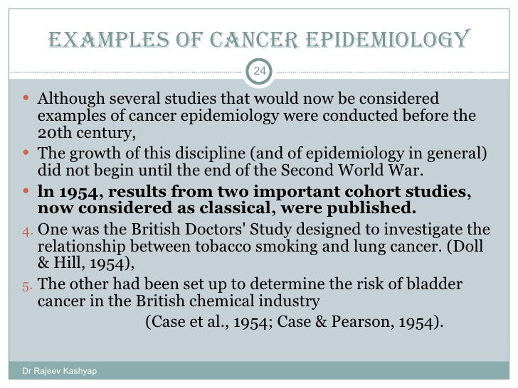 The Four Most Common Types of Epidemiological Studies