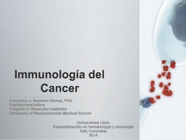 Francisco J. Ramírez-Gómez, PhD Postdoctoral fellow Program in Molecular medicine University of Massachusetts-Medical Scho...