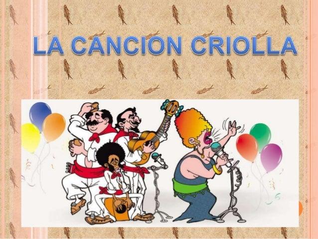 Resultado de imagen para dia de la cancion criolla fecha civica