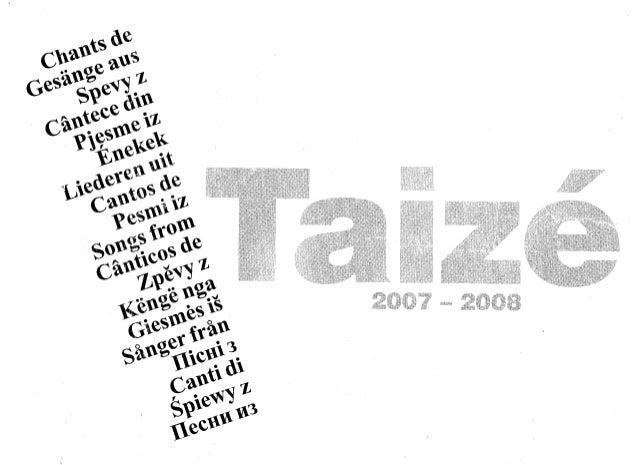 Comment poursuivre une priere commune? Cette question se pose souvent apd:s un séjour à Taizé, ou apres avoir participé à ...