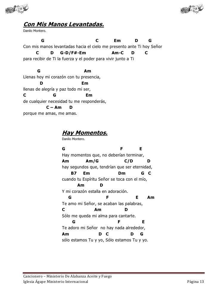 Cancionero letras y acordes iglesia hecho por luis lara for El jardin acordes