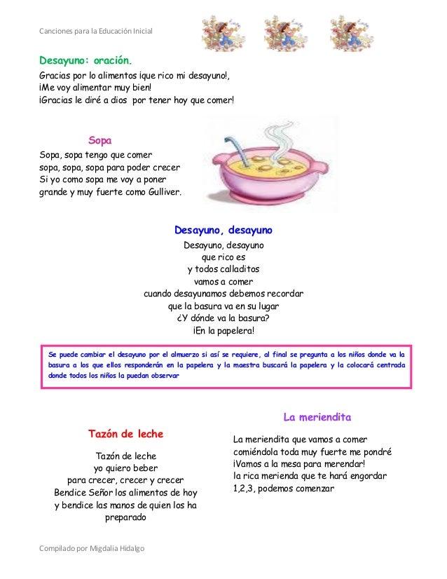 Canciones educacion inicial for Canciones de jardin infantes