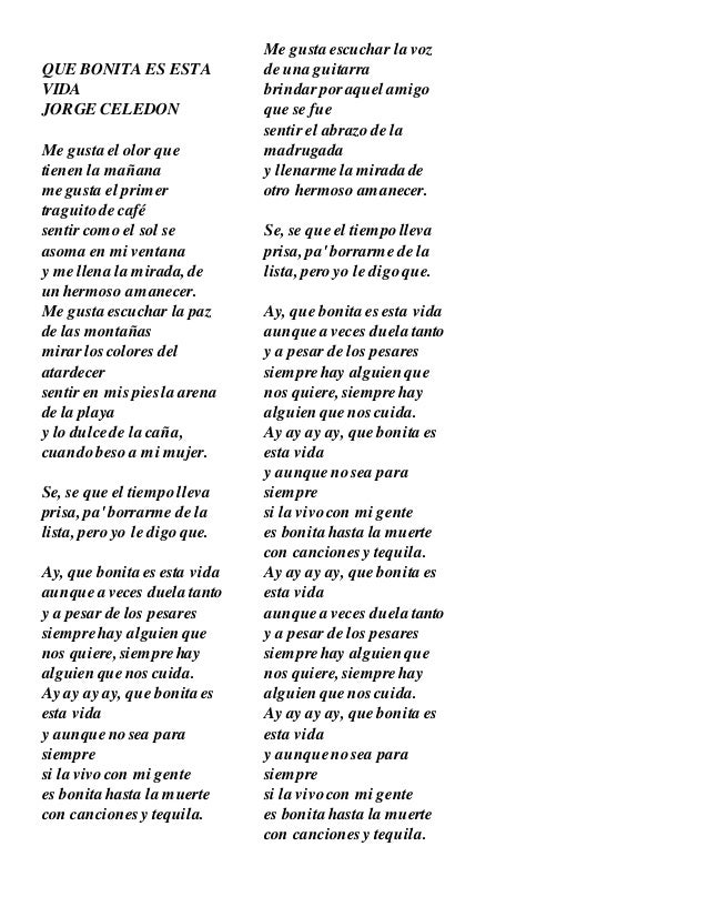 Jorge Celedón – Esta Vida Lyrics | Genius Lyrics