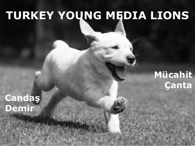 Cannes Young Lions Media Presentation - Turkey - Candaş Demir (@dambil) & Mücahit Türkmen Çanta (@mtcanta)