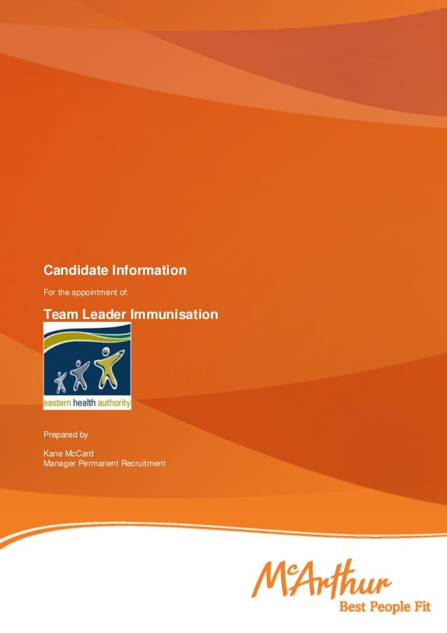 Candidate application pack final
