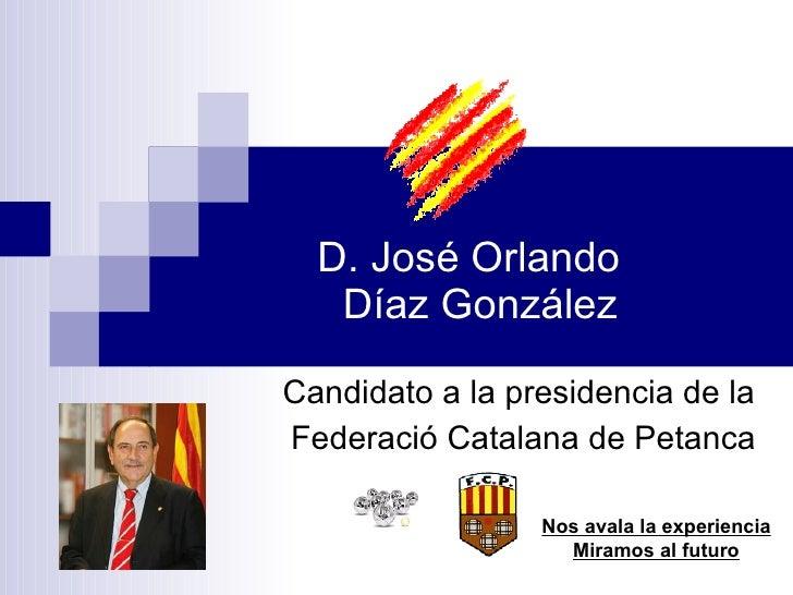 Candidatura J. Orlando Diaz