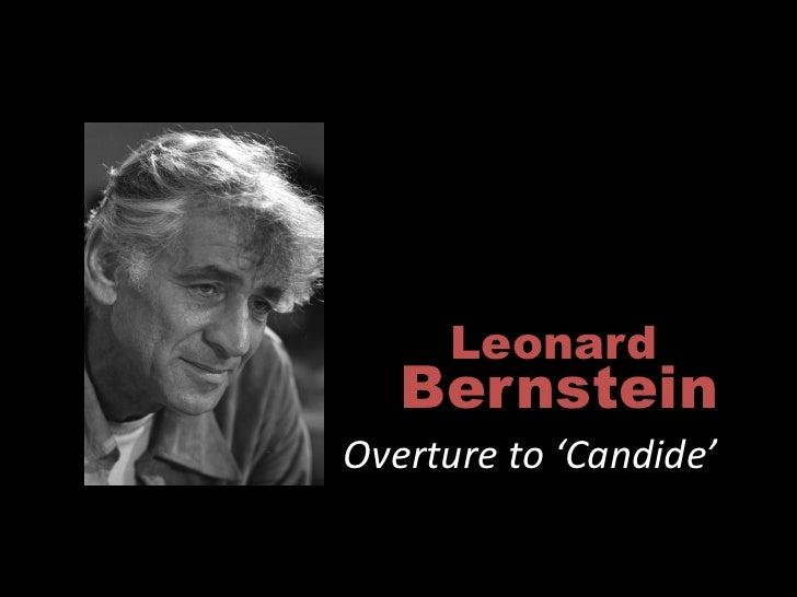 Leonard    Bernstein Overture to 'Candide'