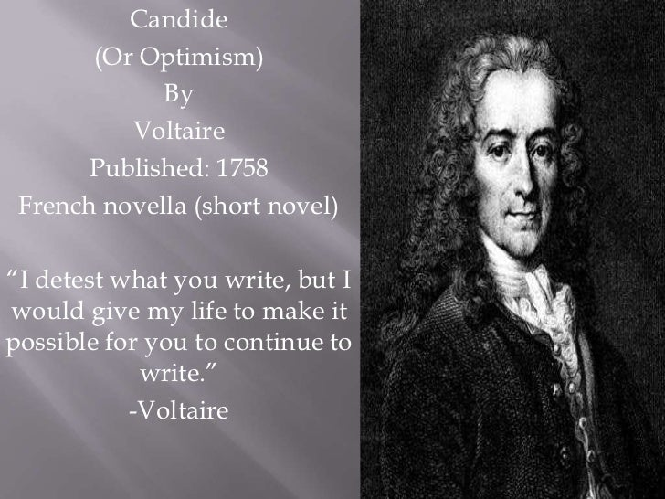 """the search for happiness in the novel candide by voltaire 2018-7-10 having seen and suffered so much, the young man decides that the only way to achieve any happiness in life is, as voltaire puts it, to """"cultivate our garden"""" among his many other works, candide helped make voltaire one of the most famous writers of the european enlightenment and, in the opinion of many, the greatest."""
