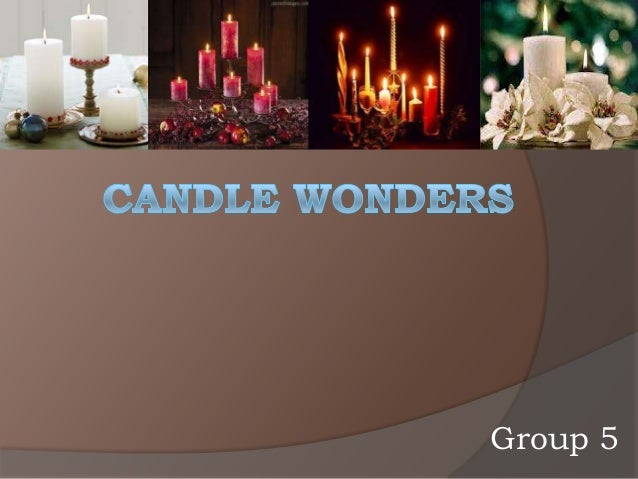 business plan for candles