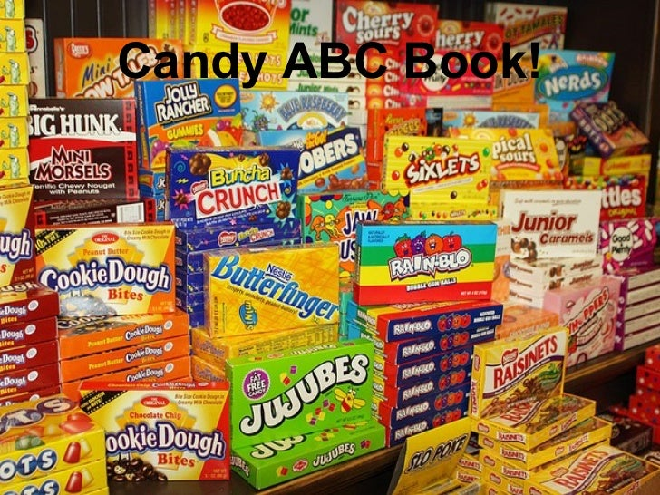 Candy ABC Book!