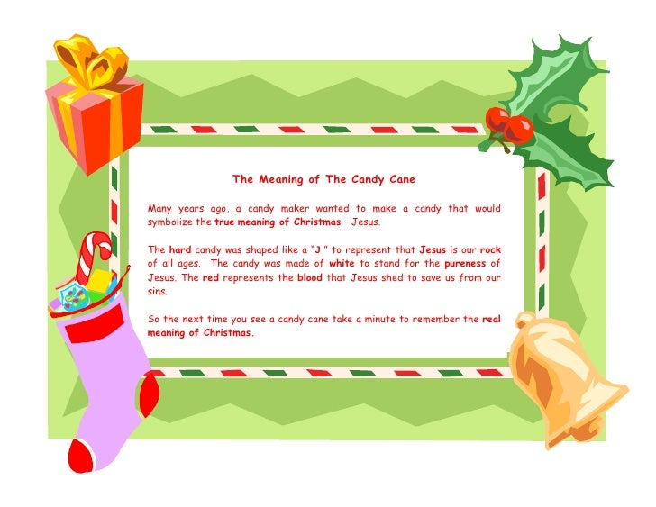The meaning of the Candy Cane
