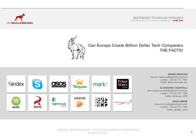 Can europe create_billion_dollar_tech_companies_-_the_facts
