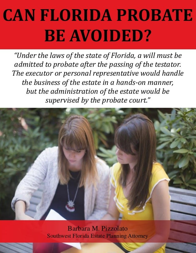 how to get probate of will