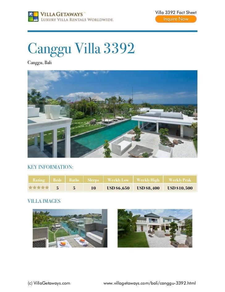 Canggu villa 3392,Bali