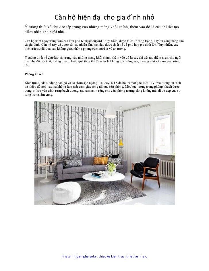 Căn hộ hiện đại cho gia đình nhỏÝ tưởng thiết kế chủ đạo tập trung vào những mảng khối chính, thêm vào đó là các chi tiết ...