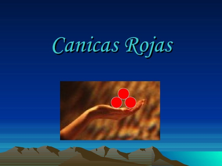 Canicasrojas