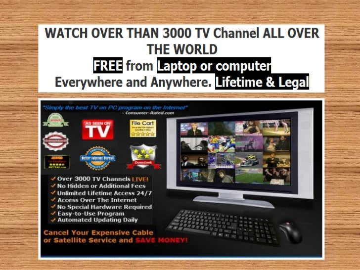 Can i watch television on my computer