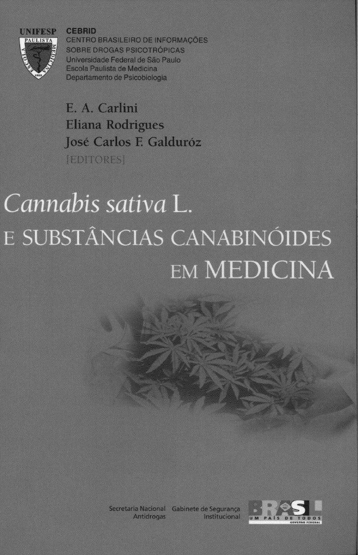 Cannabis E CannabinóIs Em Medicina