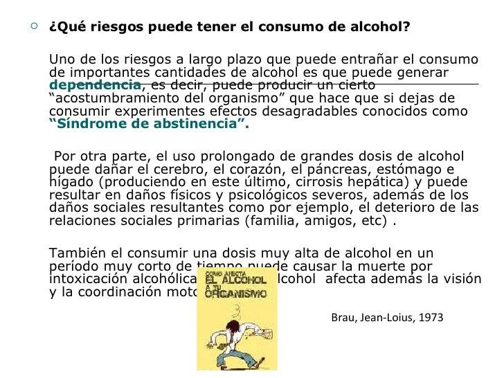 La codificación del alcoholismo sobre de octubre