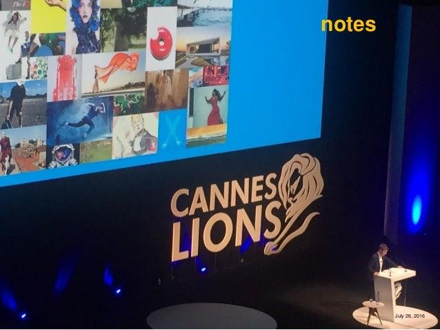 Cannes Lions: первые впечатления и умозаключения