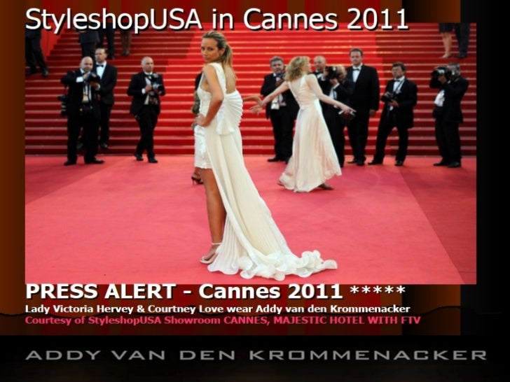 Fashion Show Producers:Jane S. Linter for StyleshopUSA           and Chiel Koning for   Addy van den Krommenacker
