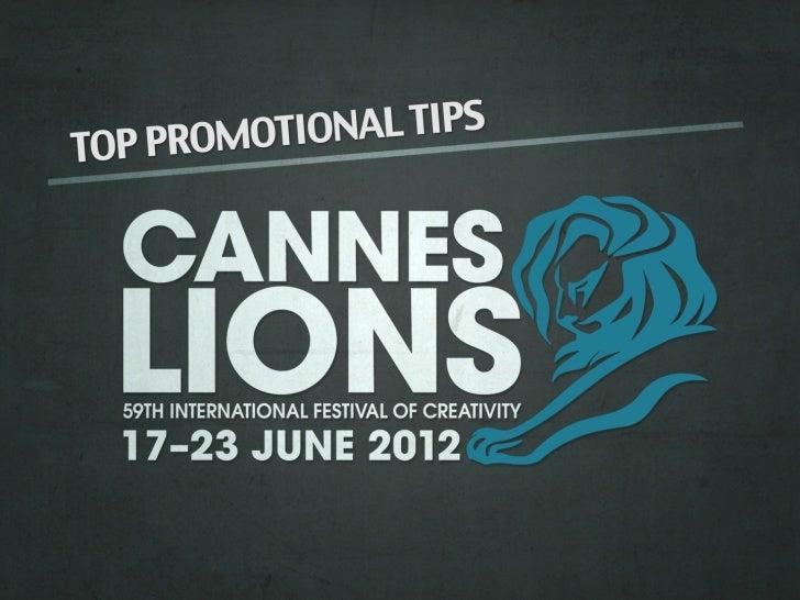 Cannes lions slide share