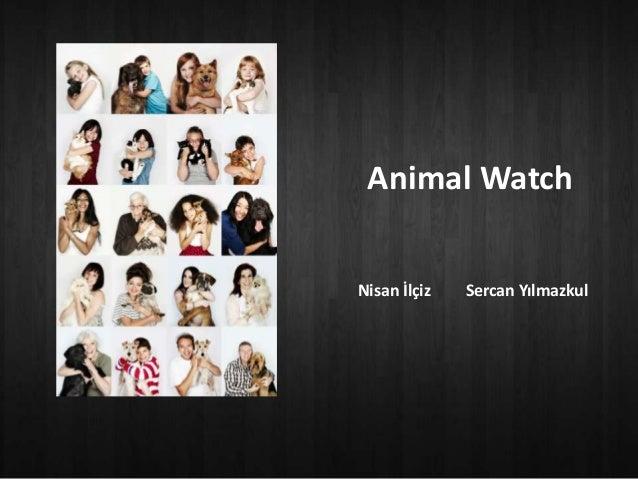 Animal WatchNisan İlçiz   Sercan Yılmazkul