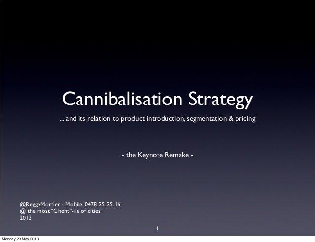 Cannibalisation strategy 2013_slideshare