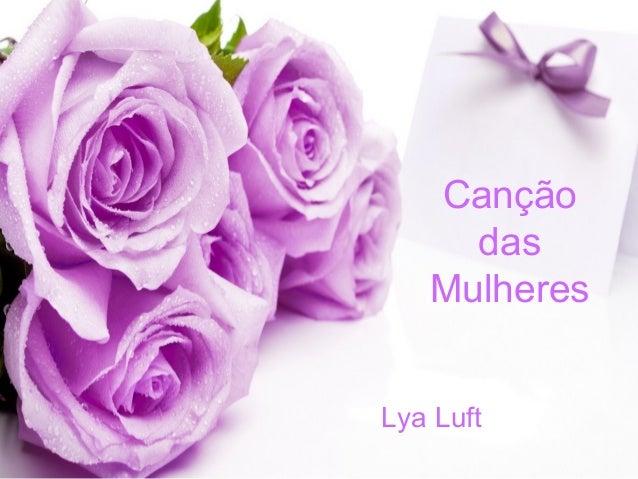 Canção das mulheres - Lya Luft