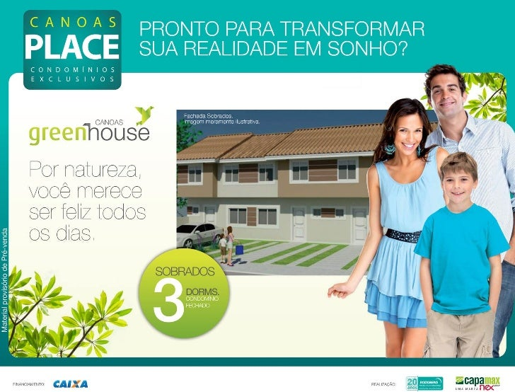Iper Imóveis - Canoas green house