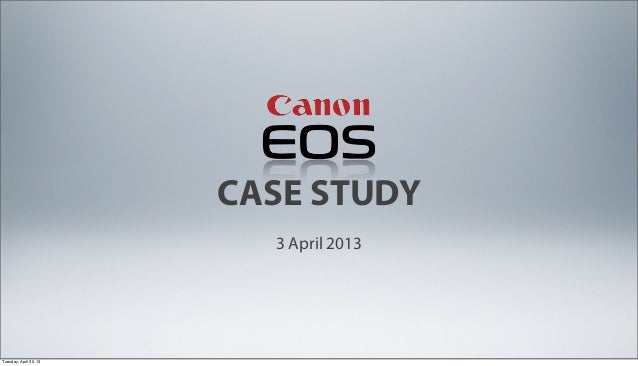[RMIT Challenge] Austrialia Canon Case Study