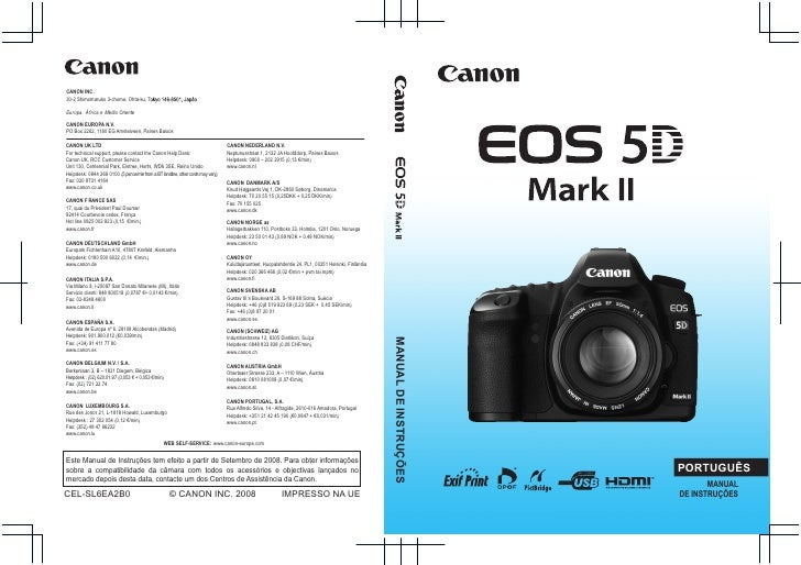 Canon eos 5_d_mark_ii_manual_portugues
